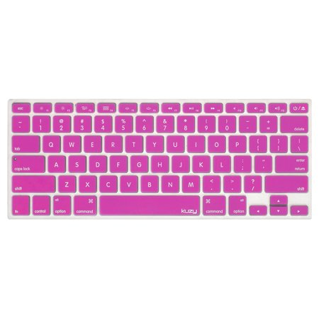 Kuzy - Keyboard Cover Silicone Skin for Older Version MacBook Pro 13
