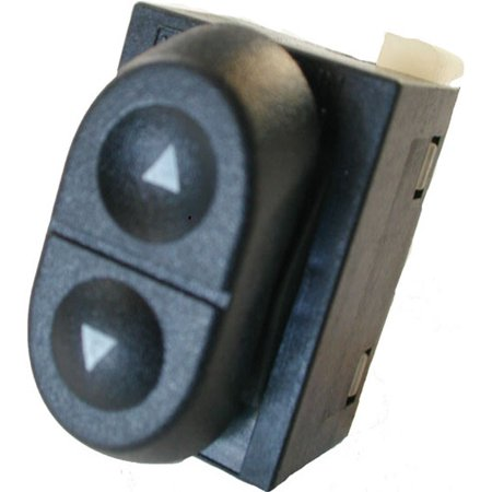 Ford Mustang Window Switch (Ford Mustang Driver and Passenger Power Window Switch 1987-1994 (1987 1988 1989 1990 1991 1992 1993 1994) (electric control panel lock button auto driver passenger)