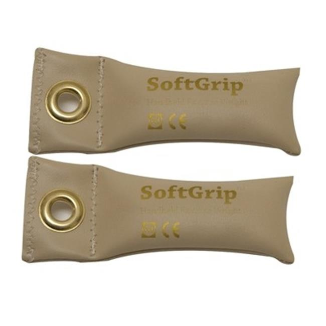 Fabrication Enterprises 10-0350-2 Softgrip Flexible Hand Weight, 0.5 lbs - Pair