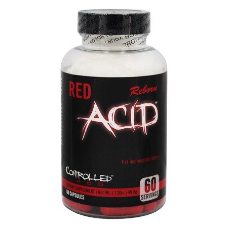 Controlled Labs - Acid Red Réincarné Fat Incinération Matrice - 60 Capsules