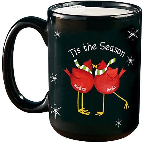 Personalized Season's Tweetings Large Mug