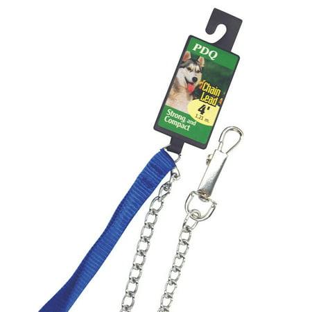 Steel Chain Leash (PDQ  Silver  Chain Lead  Steel  Dog  Leash  Medium )