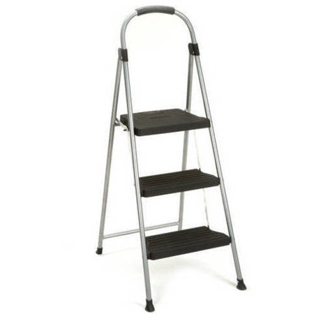 Cosco 3 Step Prem Stool In Black Walmart Com