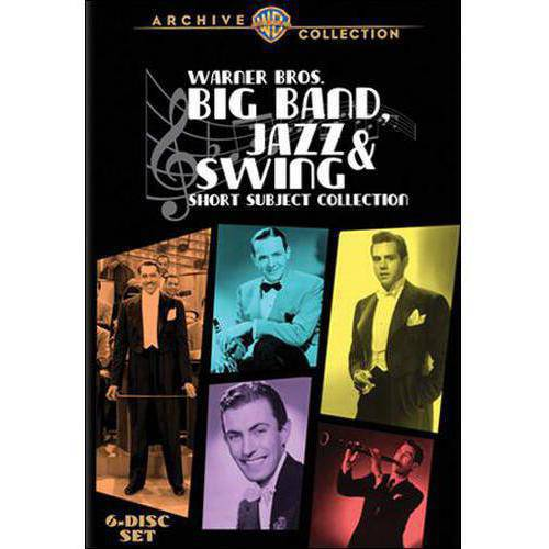 Warner Bros. Big Band, Jazz & Swing Short Subject Collection (6-Disc Set) (Full Frame)