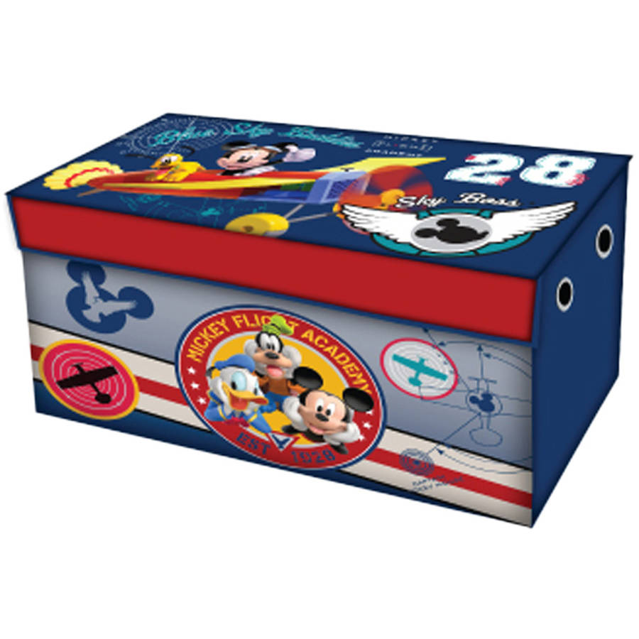 Disney Or Nickelodeon Toddler Bed With BONUS Collapsible Toy Box    Walmart.com