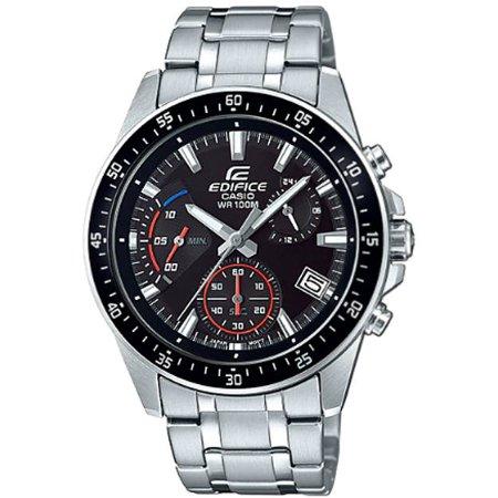 Casio Edifice Chronograph Alarm - Men's Casio Edifice Chronograph Steel Watch EFV540D-1AV