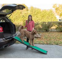 Pet Gear Bi-Fold Pet Ramp with SupertraX