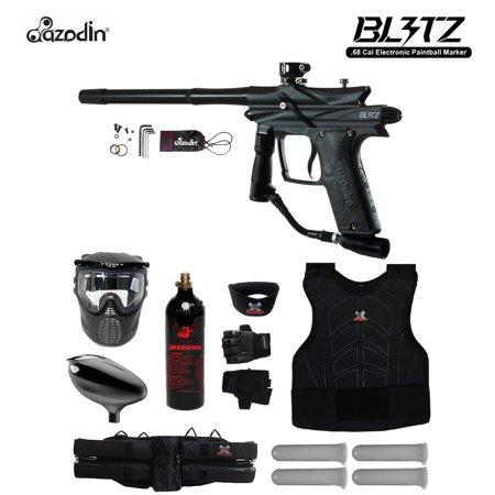 Azodin Blitz 3 Starter Protective CO2 Paintball Gun Package~Purple