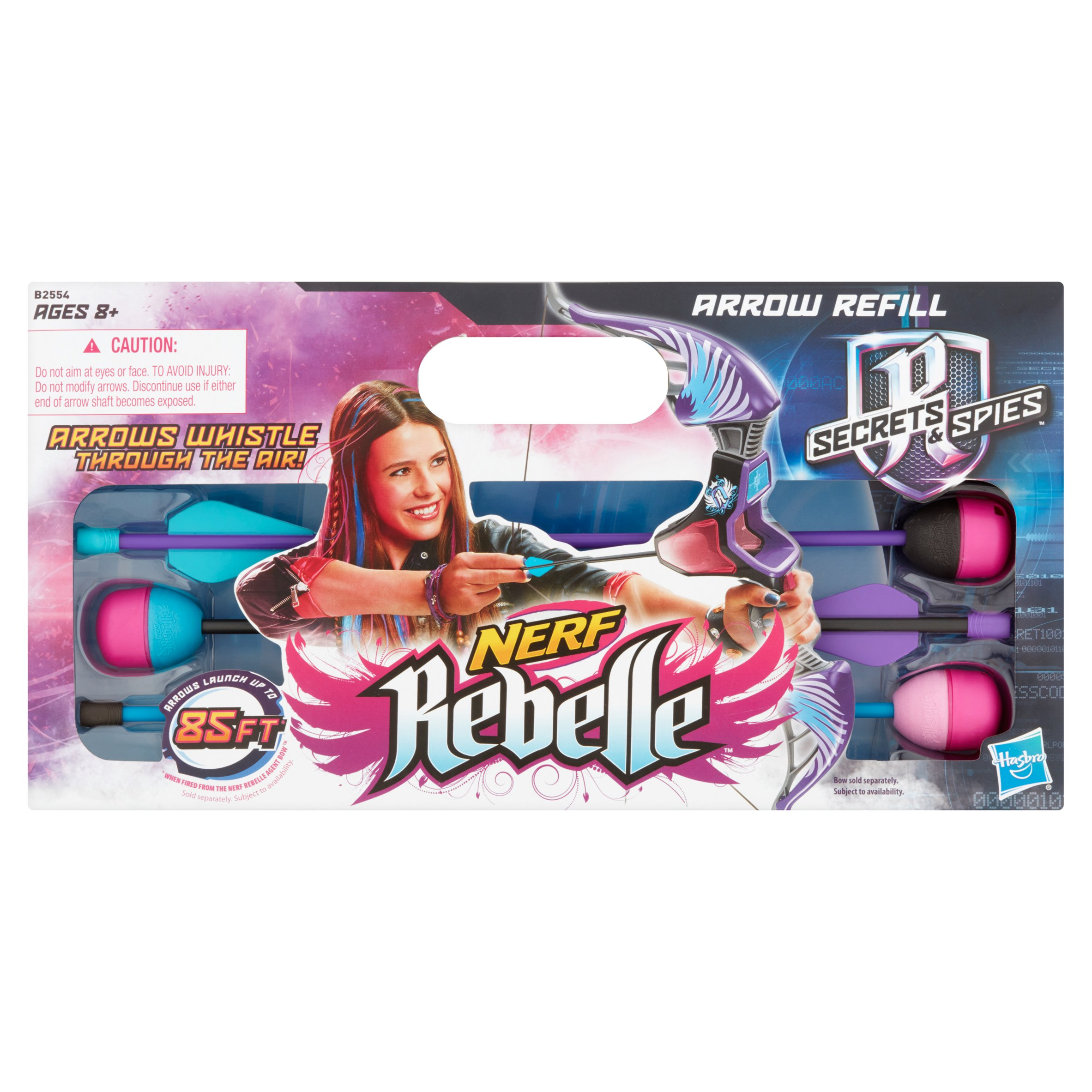 Hasbro Nerf Rebelle Secrets & Spies Arrow Refill Ages 8+