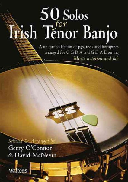 Click here to buy 50 Solos for Irish Tenor Banjo.