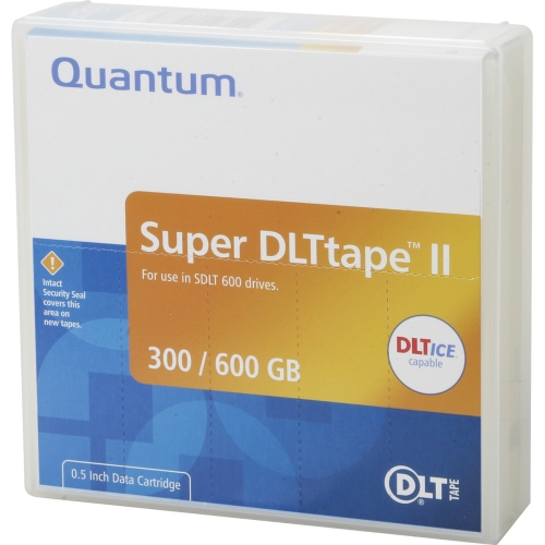 Quantum MR-S2MQN-01 Quantum Super DLTtape II Cartridge - Super DLT Super DLTtape II - 300GB (Native) / 600GB (Compressed)