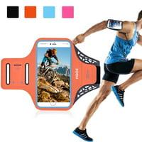 Armband Phone Case Sports Running Gym Exercise Water Resistant Card Key Holder for LG V50 ThinQ, Stylo 5, Stylo 4, G8 ThinQ, G7 ThinQ, V40 ThinQ, V35 ThinQ, V30,G6, Stylo 3/2,Stylus 3/2,K20V, K20 Plus