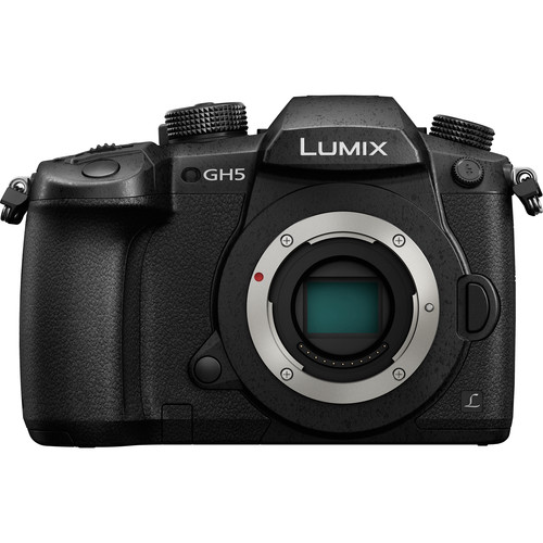 Panasonic Lumix DC-GH5 Mirrorless Micro Four Thirds Digital Camera (Body Only) by Panasonic