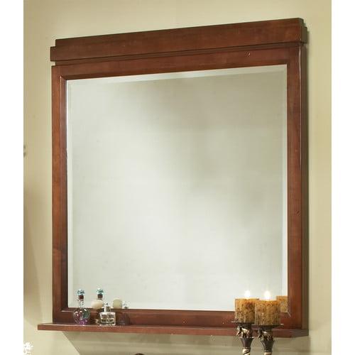 Sagehill Designs Modena Framed Mirror with Shelf