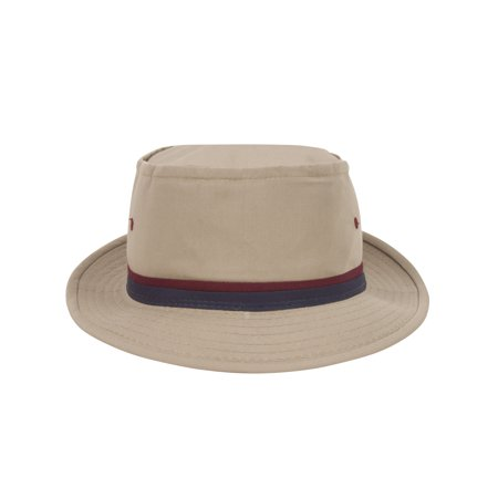 Top Headwear Packable Pork Pie Ribbon Bucket Hat - Collapsible Top Hats
