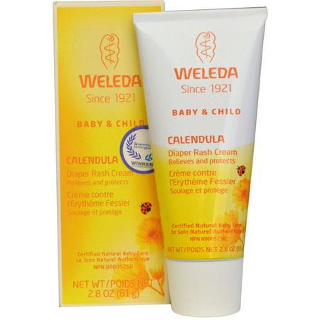 Weleda Baby Care Products Calendula crème, l'érythème fessier 2,8 oz