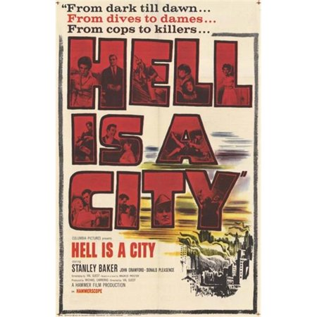 Posterazzi MOV254031 Hell is a City Movie Poster - 11 x 17 in. - image 1 de 1