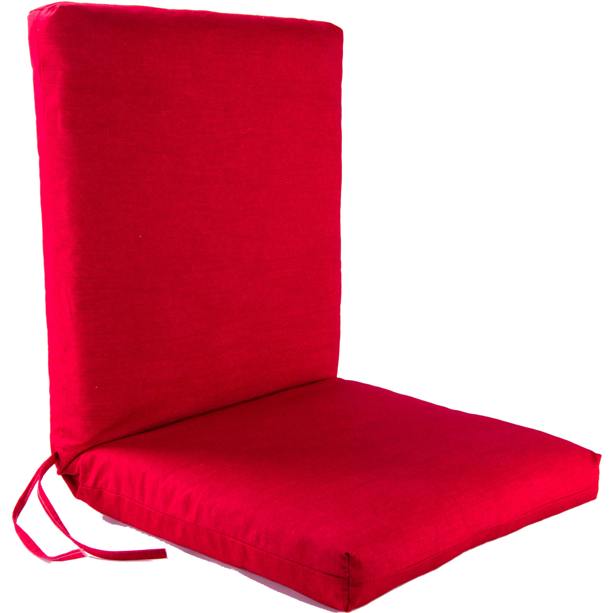 Jordan Manufacturing Outdoor Patio 1 Piece Chair Cushion, Melba Red