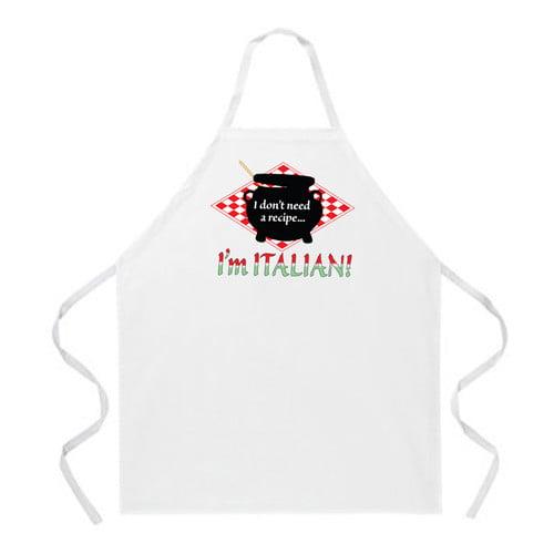 Attitude Aprons by L.A. Imprints Italian Recipe Apron