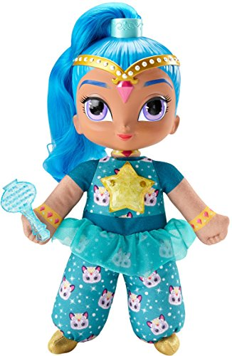 Shimmer and Shine Talking Singing Doll Blue Fisher-Price Genies Divine Plush New