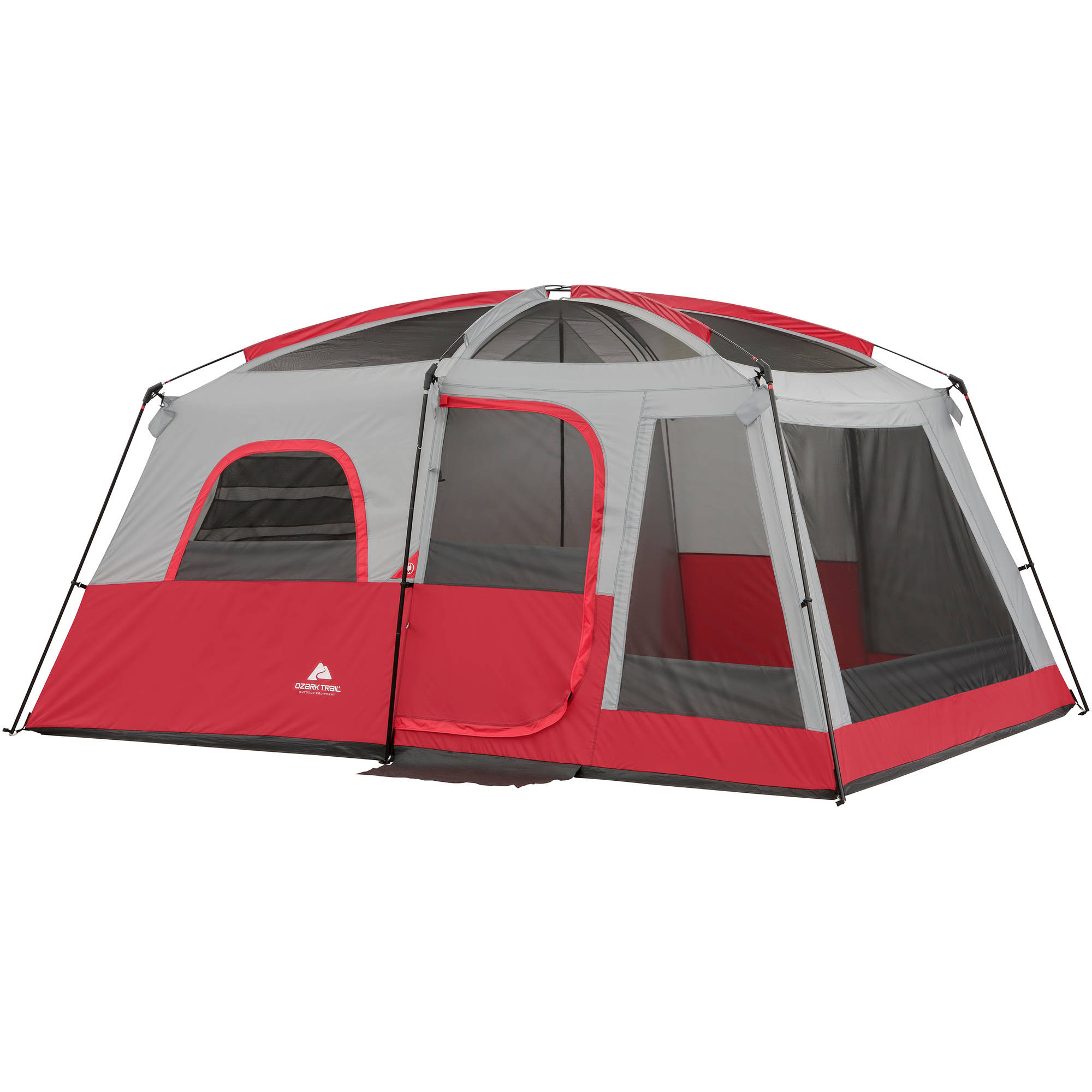 ozark trail 10 person 2 room cabin tent walmart com