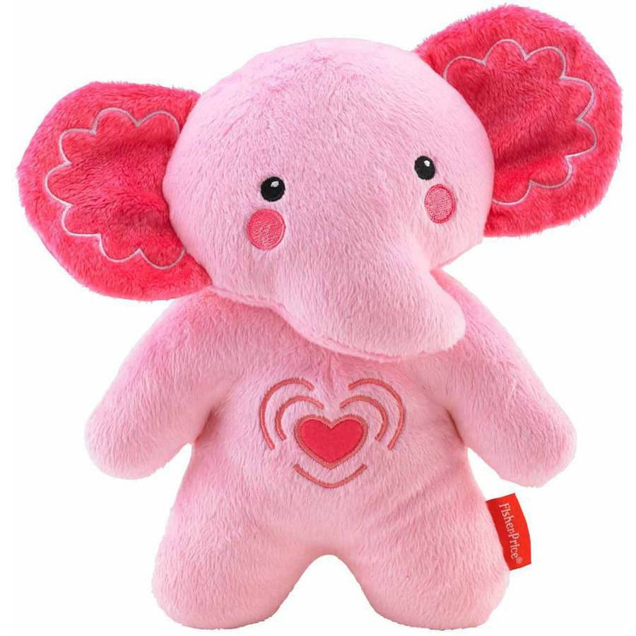 Fisher-Price Elephant Soother, Pink