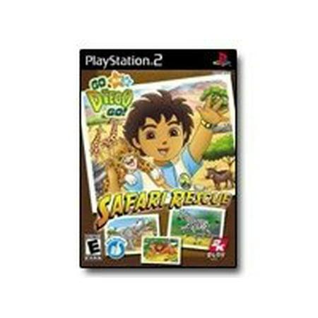 Go Diego Go! Safari Rescue - PlayStation 2 - English (Rescue Station)