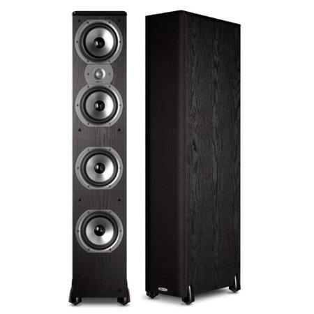 Polk Audio TSi500 Floorstanding Speaker (Single, (Polk Audio Rti A7 Floorstanding Speaker Single Black)