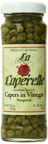 Caperelle Capers Nonpareil, 3.5-Ounce Jars (Pack of 12) by Caperelle