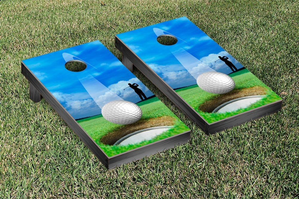Victory Tailgate Golf Hole In One Cornhole Game Set by Victory Tailgate