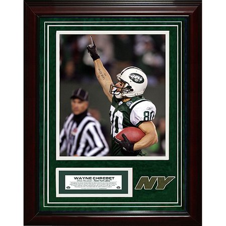 competitive price df2ea 94ce5 New York Jets Wayne Chrebet 11x14 Unsigned Turf Collage w ...