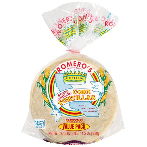 Romero's Stone Ground Corn Tortillas Value Pack, 27.5 oz