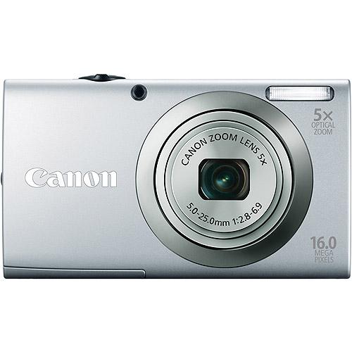 CANON 6184B001 16.0 Megapixel PowerShot(R) A2300 Digital Camera (Silver)
