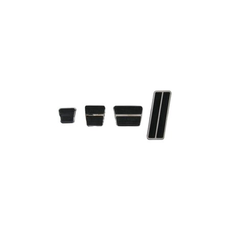 Eckler's Premier  Products 33147243 Camaro Brake & Gas Pedal Kit With Drum Brakes & Manual Transmission With 2