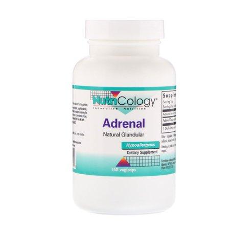 Nutricology  Adrenal  Natural Glandular  150 Veggie - Adrenal Boost