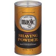 SoftSheen-Carson Magic Fragrant Shaving Powder, Razorless Shaving for Coarse Textured Beards, 5 oz