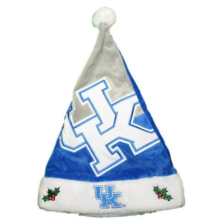 Kentucky Wildcats 2018 NCAA Basic Logo Plush Christmas Santa Hat