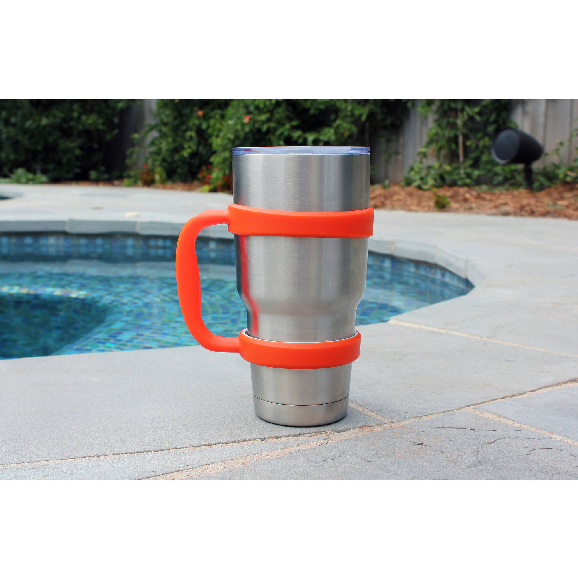 ca626f858da Grip-It 30oz Tumbler Cup Handle for Yeti, Rtic, Ozark Trail and others