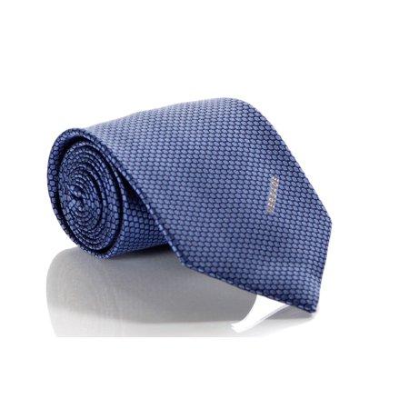 Circle Silk Tie - Versace Men's Circle Patterned Mini Floral Silk Necktie