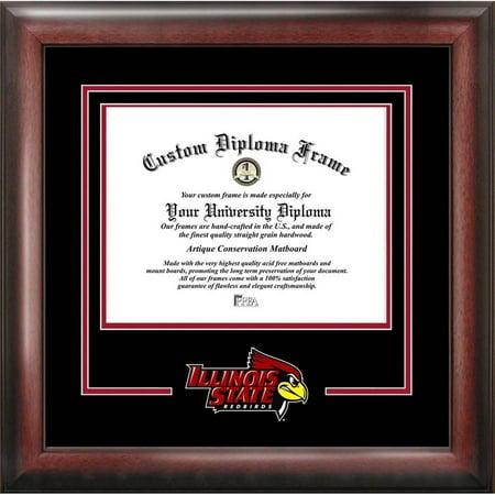 Illinois University Diploma Frame - Illinois State Redbirds 8.5