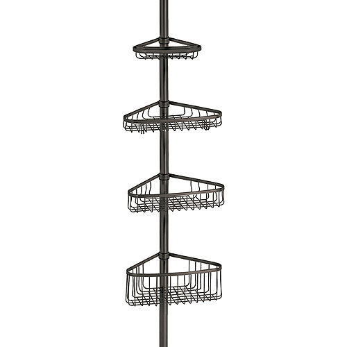 InterDesign York Tension Shower Caddy 2