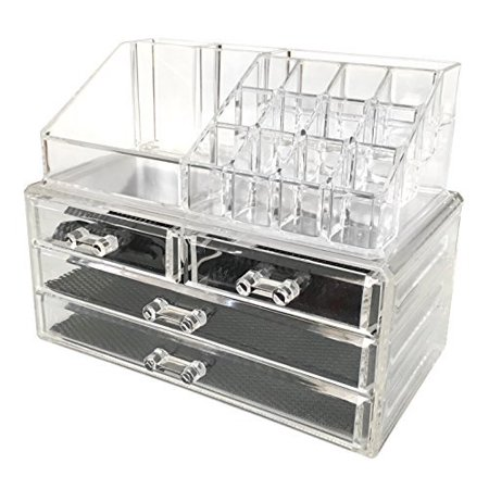 ameitech Makeup Organizer, Degree Rotating Adjustable Cosmetic Storage Display Case with 8 Layers Large Capacity, Fits Jewelry,Makeup. Sold by FastMedia. $ $ Bestselling Makeup Organizer Travel Case Jewelry Box Lockable Cosmetic Organizer Holder. Sold by Bestselling.