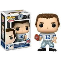 FUNKO POP! SPORTS: NFL Legends - Roger Staubach (Cowboys Home)