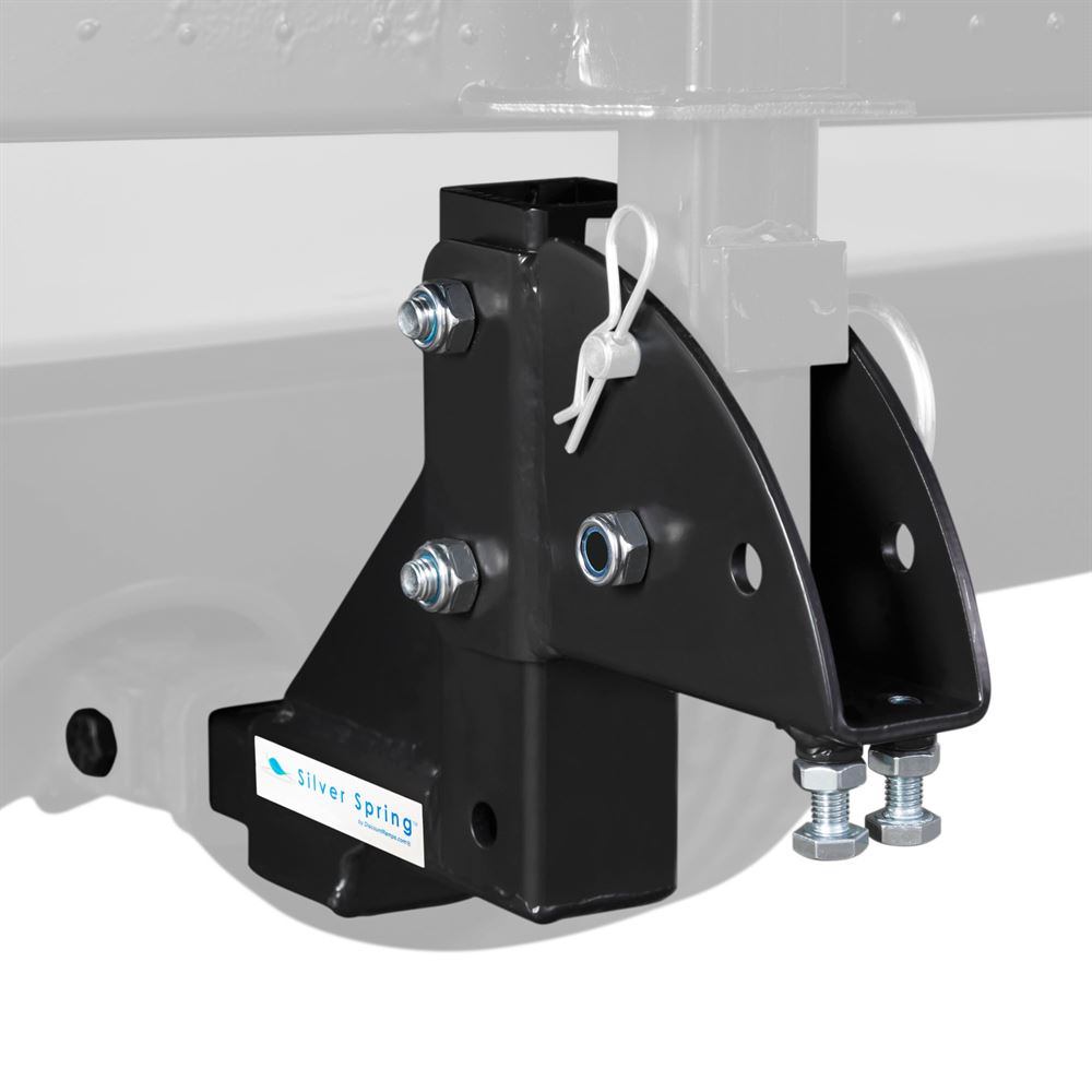 "1-1/4"" Class 2 Hitch-Mounted Mobility Carrier Multiple Level Height Adapter"