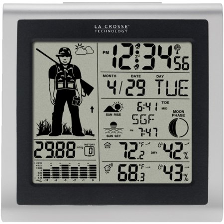 La Crosse Technology 308 1451H Wireless Forecast Station With Hunter Icon