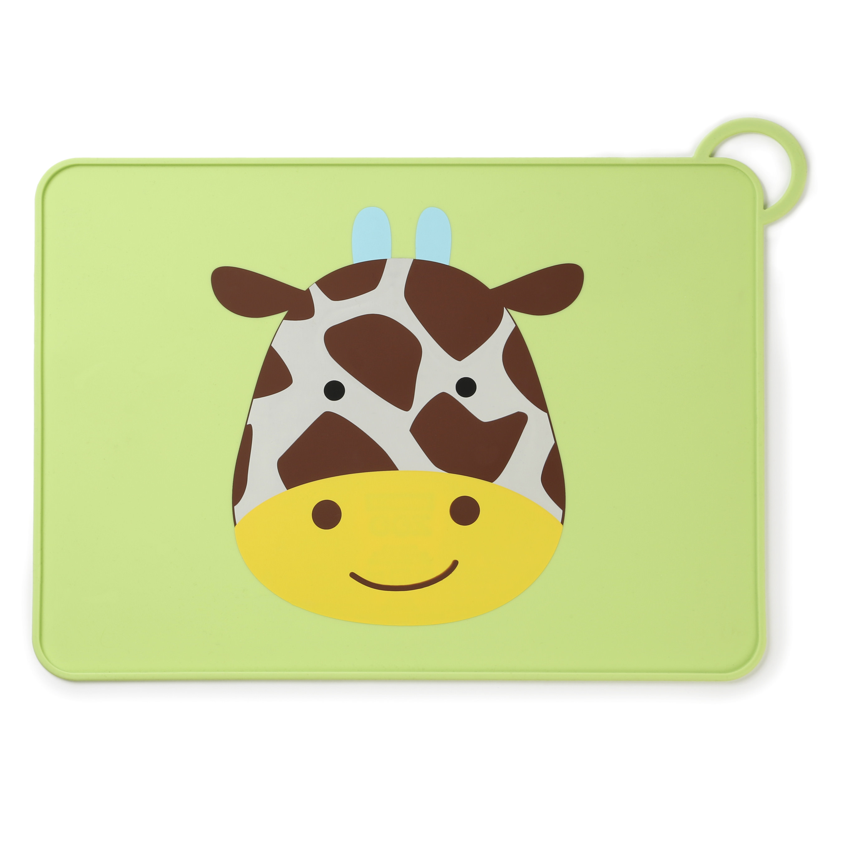 Skip Hop Zoo Fold & Go Silicone Placemat, Giraffe