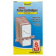 Tetra Whisper Replacement Carbon Aquarium Filter Cartridges, Sm 6 ct