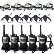 Best Retevis Long Range Walkie Talkies - Retevis RT_6S 2 Way Radio 6W UHF 400_520MHz Review