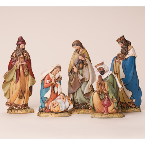 The Holiday Aisle 5 Piece Flat Nativity Set