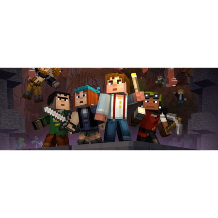 Minecraft: Wii U Edition DLC - Story Mode Skin Pack, Nintendo, WIIU, [Digital Download], 0004549666140](Halloween Skin Pack Minecraft Pc)